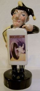 Artware Mr Punch Sandwich Board - Michelin Tyres - Made in England - SOLD